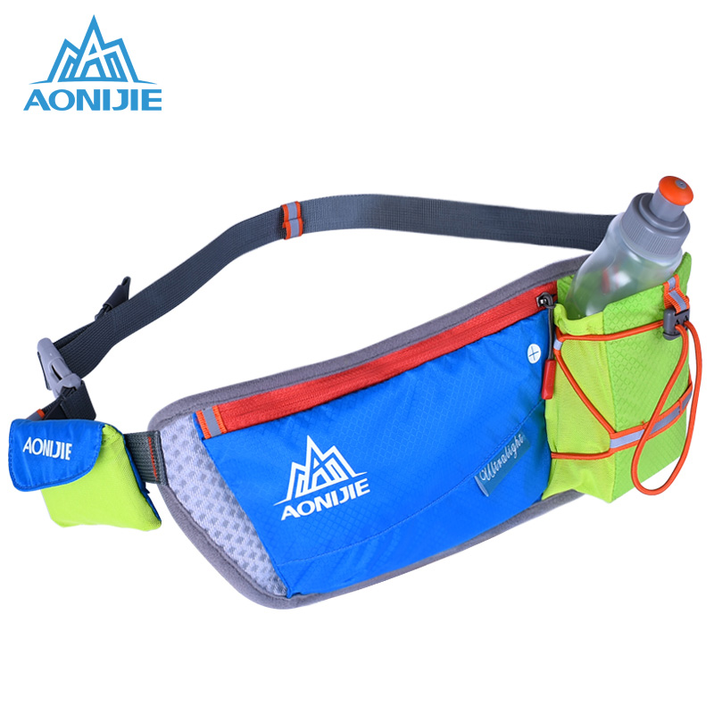 AONIJIE Running Waist Pack Marathon Bum Bag Women Men Cycling Waist Belt Unisex Key Money Holder Hip Waist Bags