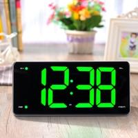 LED Projection Display Alarm Clock Double Alarm Brightness Adjustment Radio Bedroom Home Decor Desktop