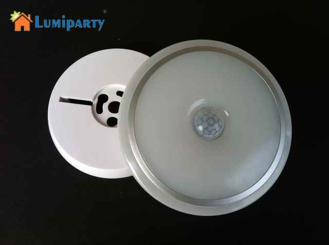 Licht En Bewegingssensor : Lumiparty nieuwe moderne led plafondlamp met pir bewegingssensor