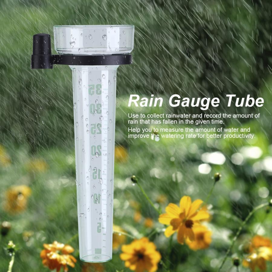 Уличный пластиковый дождевик, Размеры 35 мм, диаметр 9,5 дюйма, точное измерение для сада, прямая продажа
