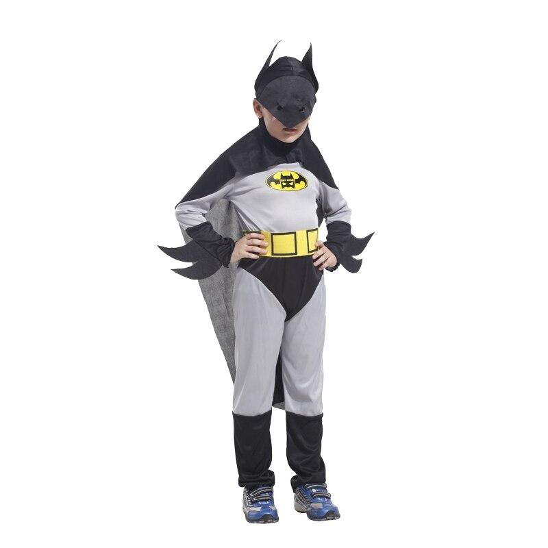 Umorden Boys Batman Cosplay Costume Superhero Christmas New Year Halloween Party Fantasia Fancy Dress for Kids Children