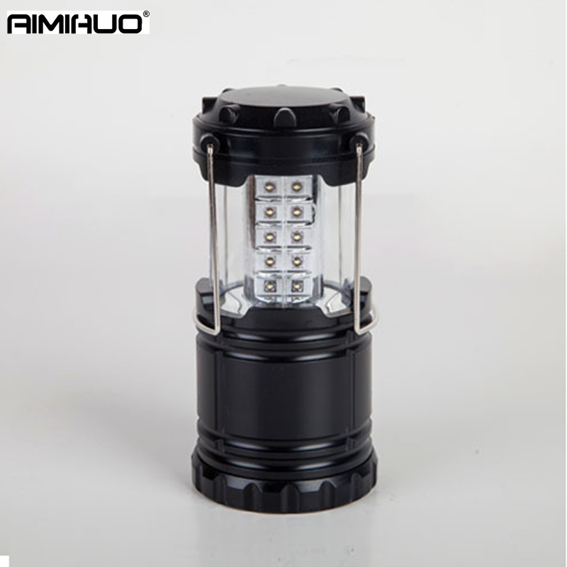 AIMIHUO 30 LED camping lamp extension camp light retractable camp lamp portable light lantern outdoor camping tent lamp