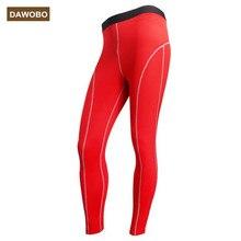 DAWOBO marca Medias de Compresión hombres Pantalones Joggers Pantalón de Fitness de Alta Elástica Transpirable Sudor gimnasio Mallas Hombre Pantalones
