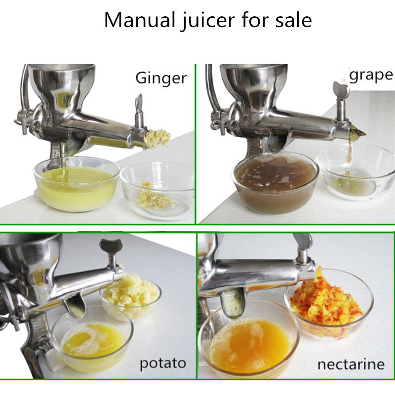Table Stainless Steel Manual Juicer Squeezer Citrus Lemon Orange Pomegranate Fruit Juice Extractor