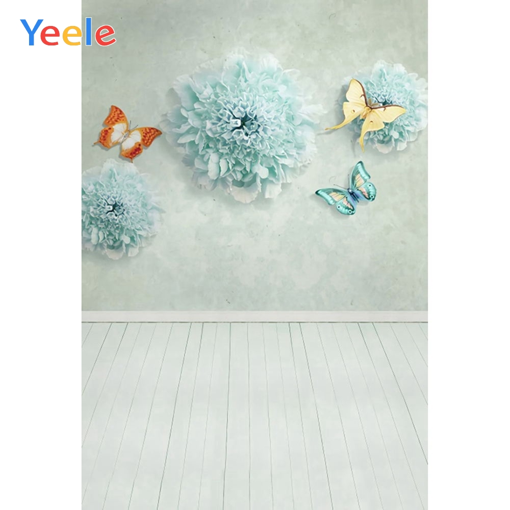 Yeele Butterfly Sweet Scenery Newborn Self Portrait Photography Backgrounds Personalized Photographic Backdrops For Photo Studio
