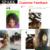Uma Peça Brasileira 7A Cabelo Virgem Encaracolado Espiral Onda Jerry Perucas da Extensão Do Cabelo Ombre Weave Brasileiro Do Cabelo humano Mocha Faísca cabelo