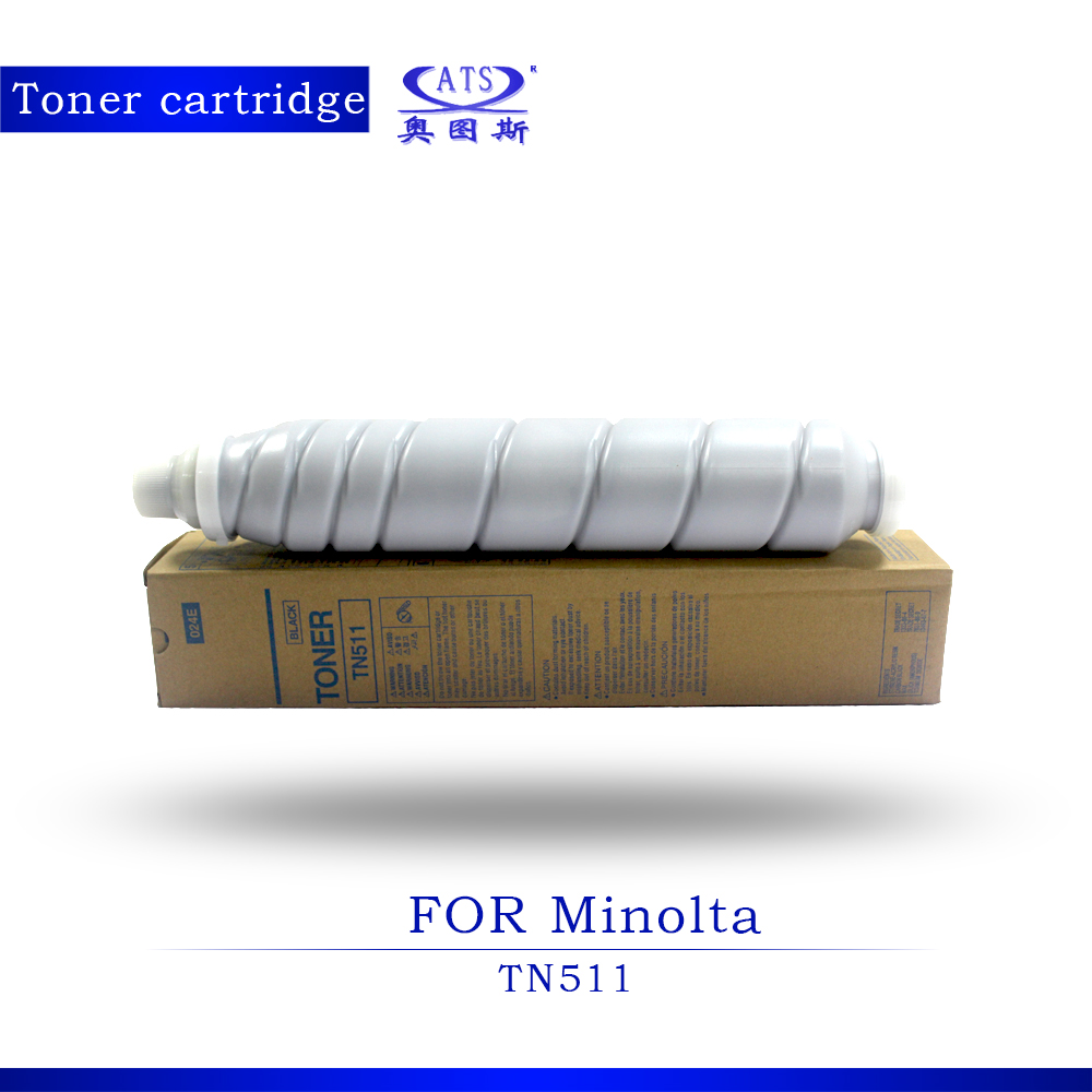1PCS Toner Cartridge For Minolta TN511 Bizhub BH 501 500 421 420 Copier Parts Photocopy machine BH501 BH500 BH421 BH420 1pcs photocopy machine toner cartridge for xerox dcc 6550 c 5400 6500 7500 copier parts dcc6550 toner powder page 2