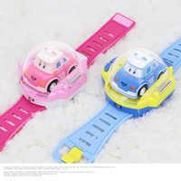 Zegarek pilot zdalnego sterowania samochód mini pilot zdalnego sterowania samochód zegarek dla dzieci zabawki zegarek pasek douyin wybuchowych pieniądze chłopiec dziewczyny nowe zabawki