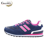 Crocodile Women S Sneakers Female Running Shoes Winter Spring Blue Gray Two Colors Breathable Ladies Shoes