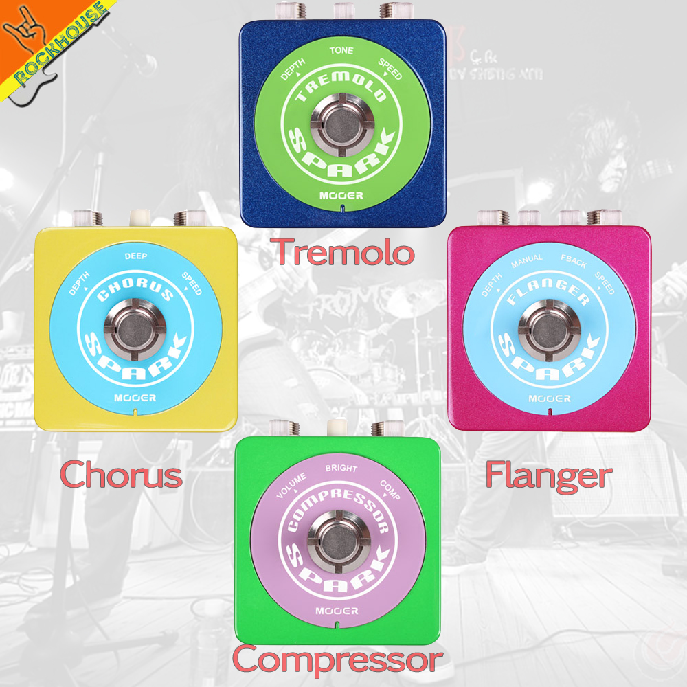 NEW MOOER Spark Chorus guitar effect pedal flanger guitar tremolo effect pedal compressor effects true bypass free shipping mooer ensemble queen bass chorus effect pedal mini guitar effects true bypass with free connector and footswitch topper