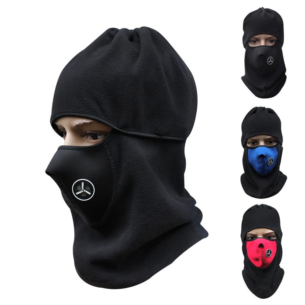 Masque facial Balaclava Moto Moto Masque Accessoires Moto Accessori par Ciclisti Mascherina Vélo Vélo Ski