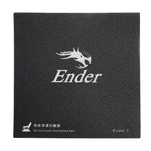 Creality 3D 235*235 мм матовая нагреваемая кровать Горячая каркас кровати Стикеры с 3 м Подложка для Ender-3 3D-принтеры часть
