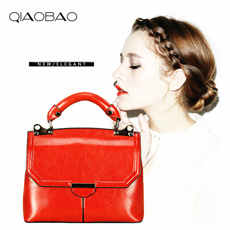 QIAOBAO New Arrival 100% Genuine Leather Shoulder Bag Messenger Bag Cowhide Female Fashion Handbag Cowskin Bag verso сыворотка для зоны вокруг глаз super eye serum 30ml
