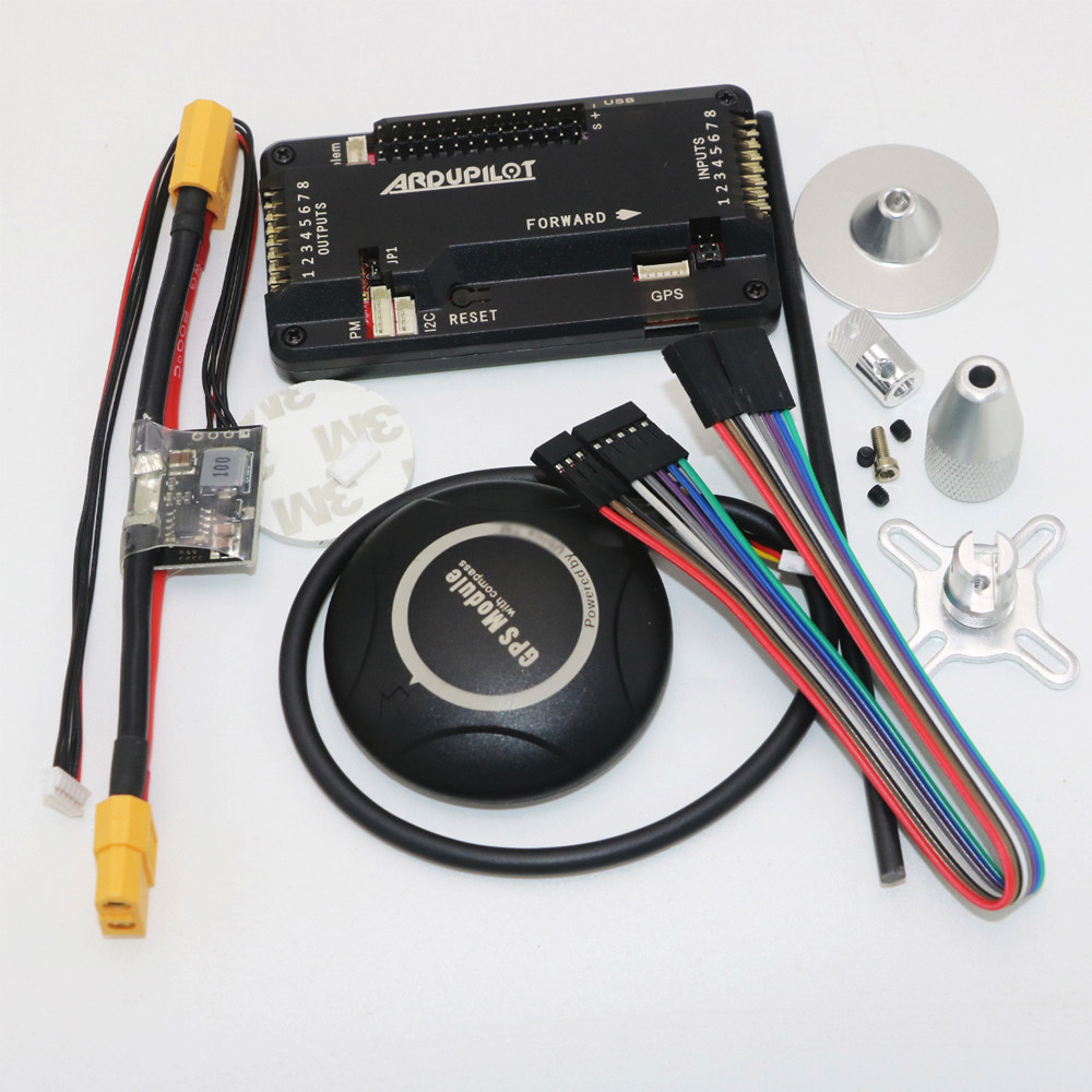 Online Shop F14586 C Apm28 Apm 28 Rc Multicopter Flight Controller 2 5 Wiring Diagram Ardupilot Mega Internal Compass Built In With 7m Gps