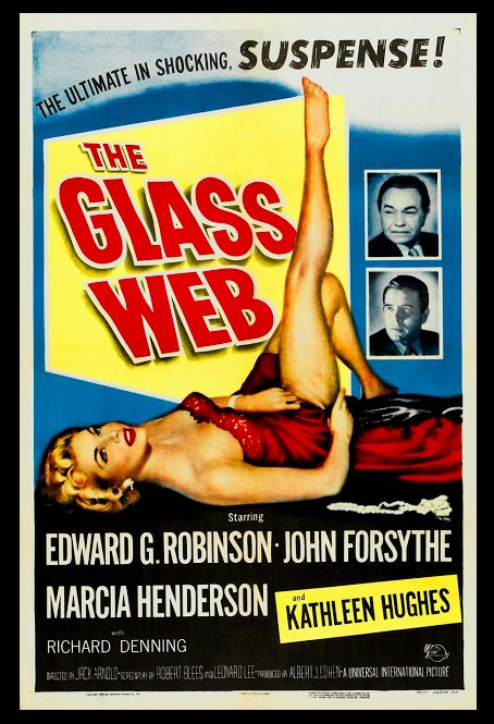 The Glass Web Sexy Beauty Classic Movie Film Noir Retro Vintage Poster Canvas Painting DIY Wall Paper Home Decor Gift image