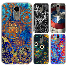 Drop Shipping TPU Soft Phone Case for LG K10 2017 X400 M250N K20 plus LG LV5 5.3-inch Fashion Pattern Colorful Painted