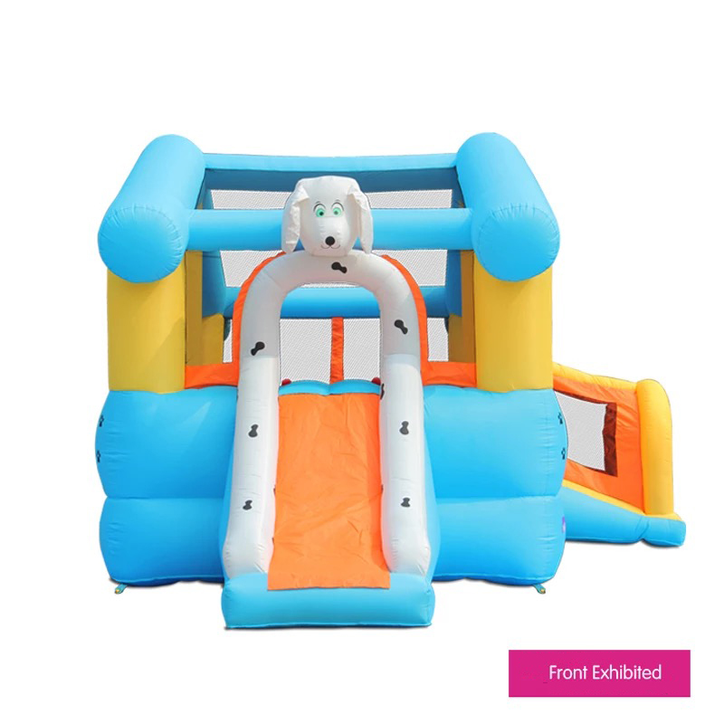 HTB1r.arPFXXXXXmXVXXq6xXFXXXo - Mr. Fun Kids Dog Bouncy Inflatable Bounce House Big Slide Combo with Blower