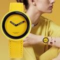 Новинка 2019, модные наручные часы с черным кожаным ремешком, простой стиль, мужские часы Atmos, мужские и женские повседневные кварцевые часы для детей - фото