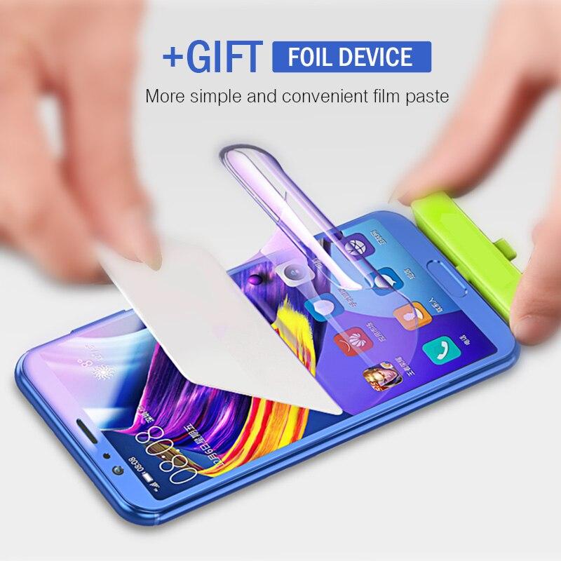 4D Film de protection souple Hydrogel pour Huawei P20 P30 Mate 20 Lite Pro protecteur d'écran pour Huawei Honor 9 10 20 Lite Film