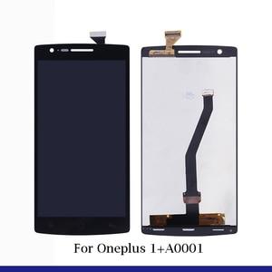 Image 2 - ل Oneplus 1 + A0001 A2001 A3000 A3010 A5000 A5010 شاشة الكريستال السائل + شاشة تعمل باللمس الجمعية ل OnePlus 1 2 3 3T 5 5T 6 6T 7 LCD شاشة