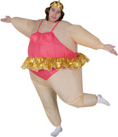 Fun Halloween Party Dress Inflatable Inflatable Ballet Dancer In A Ballet Dancer Adults For Free Shipping