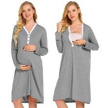 Платье для беременных; халат для кормящих; ночная рубашка для больниц; платье для грудного вскармливания; Одежда для беременных