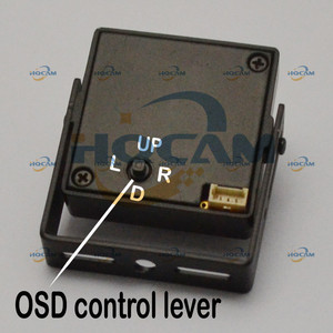 """Image 5 - Hqcam 1/3 """"sony effio v 800tvl verdadeiro wdr miniatura quadrado câmera 3.6mm lente osd função 4141 + 663 \ 662 atm câmera de acordo com o rosto"""