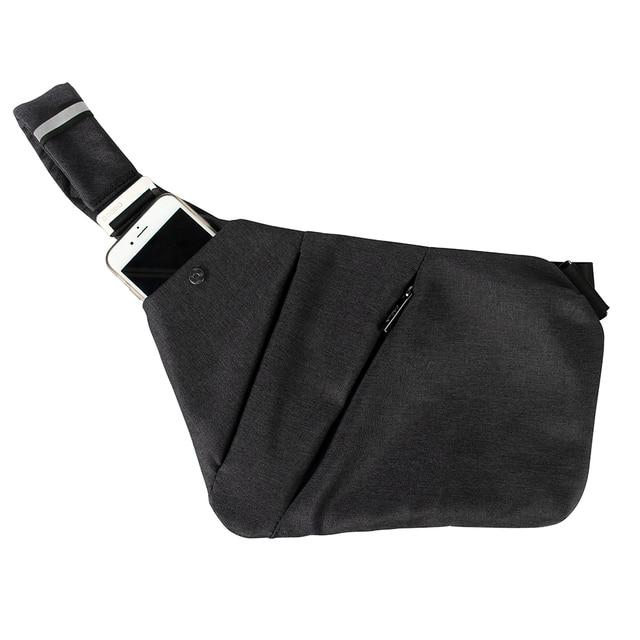 Lightweight Outdoor Sling Backpack Chest Bag Anti Theft Crossbody Shoulder  Pack Bag for Sport Travel Hiking Men Women Daypack cb1497e4d690