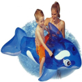 genuine New Children Transparent Blue Whale Kids Swimming Pool Swimming Inflatable PVC Mounts