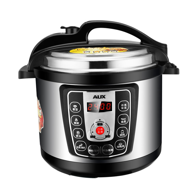 220V AUX 5L Electric Pressure Rice Cooker 24 Hours Booking Intelligent Non-stick Microcomputer Control With 2 Inner