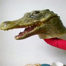 Карнавальные Торжества Партия Крокодил Маска ПОЛНЫЙ НАКЛАДНЫЕ ЗАБАВНЫЙ ВЗРОСЛЫХ ЛАТЕКСА ДИКОЙ ПРИРОДЫ ЖИВОТНЫХ НЕОБЫЧНЫЕ ПЛАТЬЯ МАСКА маски  взрослый смешно маска крокодила Маска Для Взрослых  маски