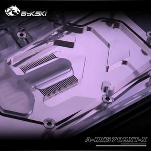 Image 4 - Bykski A RX5700XT X GPU Blocco di Raffreddamento Ad Acqua per Frontier AMD Radeon RX 5700XT/5700
