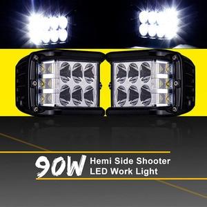 90W Three-sided Luminous Led W
