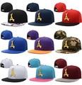 THA Alumni Iron Standard Gorras Planas Hip Hop Snapback Caps Harajuku Word Baseball Cap Bone Aba Reta Trucker Hats 166c
