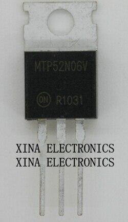 10PCS MTP52N06V TO-220