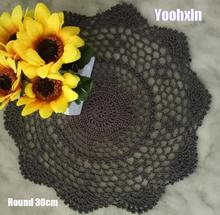 New round cotton placemat…