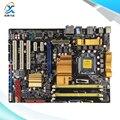 Para asus p5q original utilizado p45 madre de escritorio de intel socket lga 775 atx ddr2 16g sata2 usb2.0