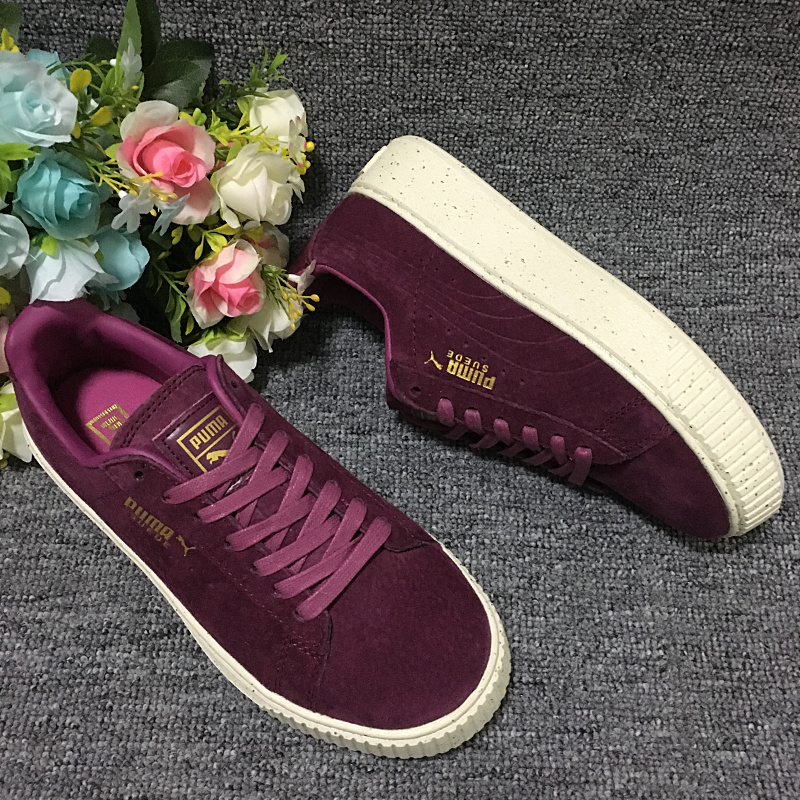 2018Original PUMA x DIAMOND Suede Men's Sneakers Women's Training Shoes Sneakers Badminton Shoes Size 36 39