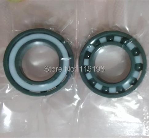 636 full SI3N4 ceramic deep groove ball bearing 6x22x7mm P5 ABEC5 6300 full si3n4 ceramic deep groove ball bearing 10x35x11mm p5 abec5