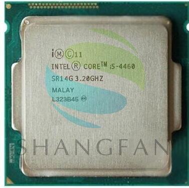 intel Core i5-4460 SR14G i5 4460(3.2GHz/6MB /4 cores /Socket 1150/5 GT/s)Quad Core Desktop CPU