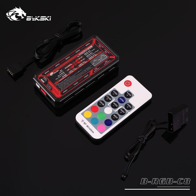 Bykski B-RGB-C8 8+4 Channels 12v RGB LED Remote Controller