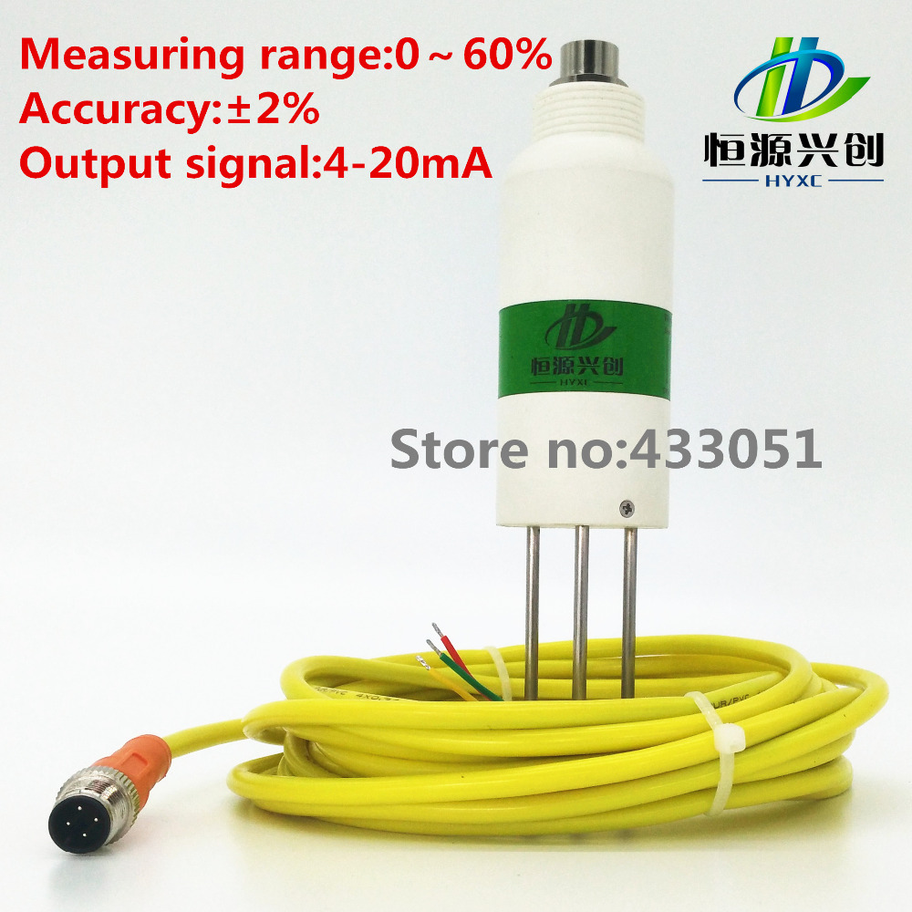 все цены на Soil moisture sensor;Humidity sensor, utput signal 4-20mA/0-1V/RS485;Applicable to all kinds of soil moisture monitoring онлайн