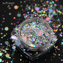 Nail Holographic Glitter Hexagon