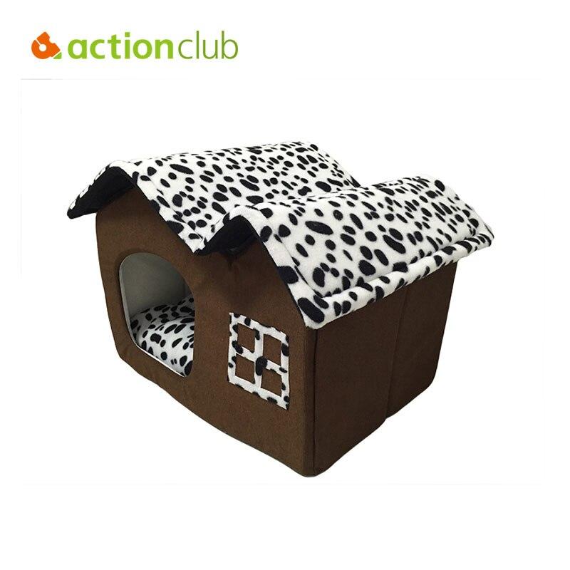 Actionclub gran casa de perro cama del perro del estilo plegable de alta calidad