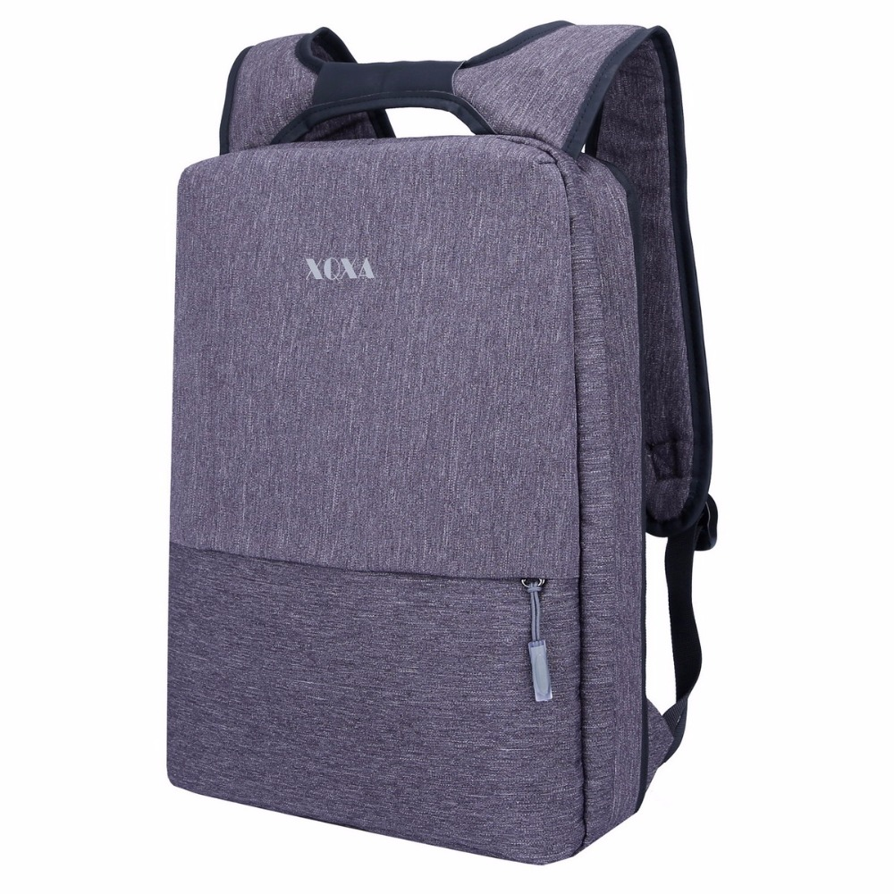 XQXA Light Slim Backpack Men Lightweight 14 15.6 Inch Laptop Bag Women's Portable Notebook Backpack For 9.7 / 12.9 Inches iPad slim xl backpack