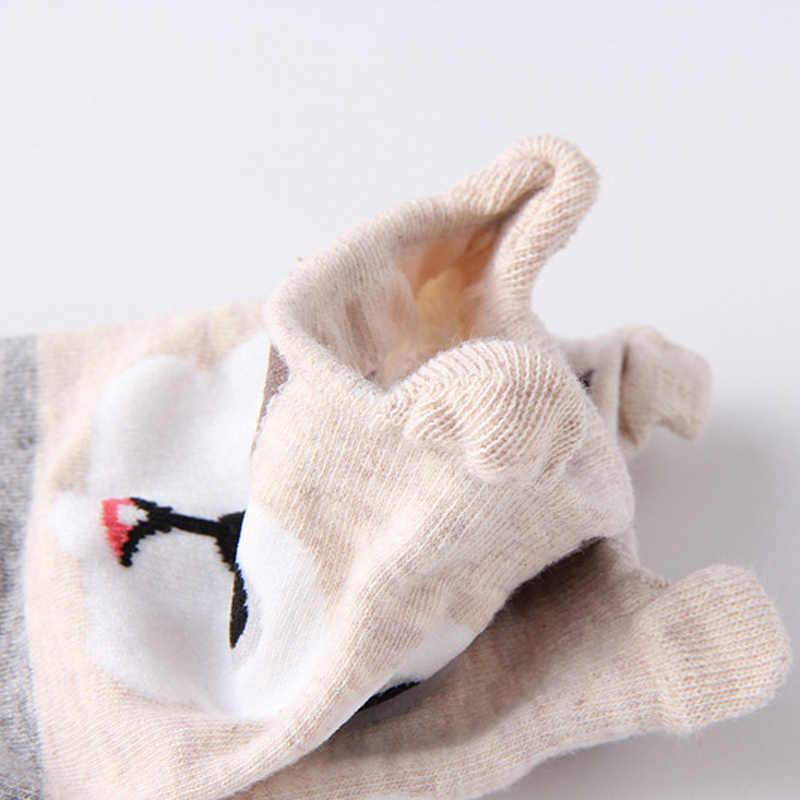 2 пары Новая мода мультфильм Kawaii милые короткие носки женские Харадзюку хлопковые носки Hipster низкая лодыжки забавные женские Meias Лидер продаж