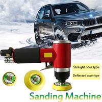2 3 Mini Car Waxing Machine Pneumatic Sanding Machine Air Sander Grinding Smoothing Polishing Sealing Small Buffer Polisher