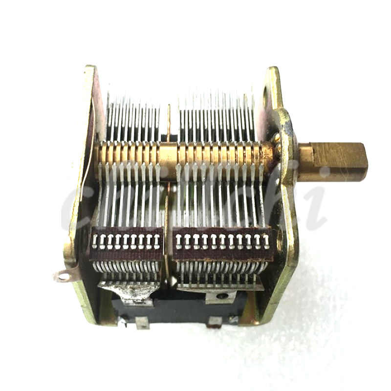 460PF radio dual variable capacitor Jgzwlkj Capacitors People made 246 type 2