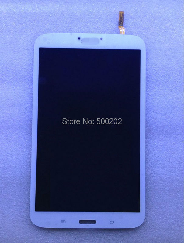 New LCD Display + Touch Screen Panel Assembly White For Samsung Galaxy Tab 3 8.0 SM-T310 T310 HK Post Free Shipping white 8inch for samsung for galaxy tab 3 sm t310 t310 lcd display screen touch digitizer sensor full assembly tablet pc