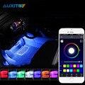 Для Toyota Hilux Rav4 Corolla Avensis Yaris Auris Prius APP Управления Салона Атмосфера Светильник Украшения RGB LED Strip Light
